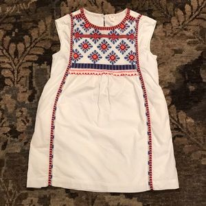 J. Crew Crewcuts Embroidered Dress Size 8